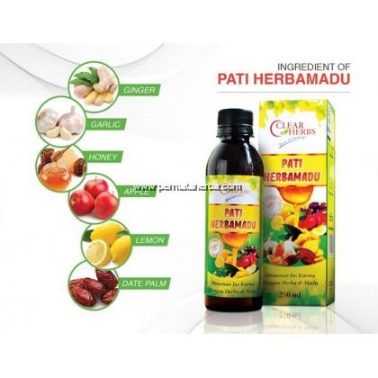 Pati Herba Madu Halia Clear Herbs