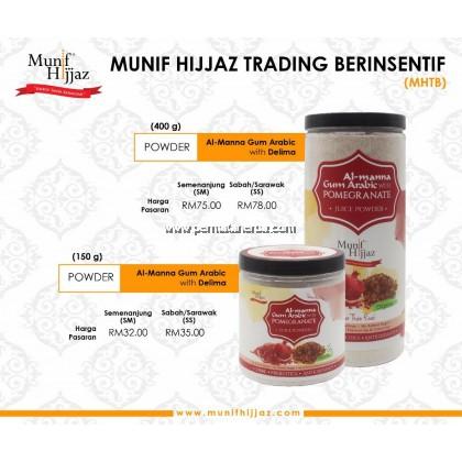 Munif Hijjaz Arabic Gum Al Manna