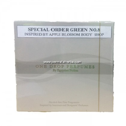 One Drop Perfume Special Order Green No 8