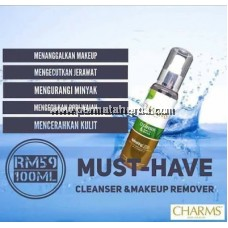 Charms Cleanser and Makeup Remover
