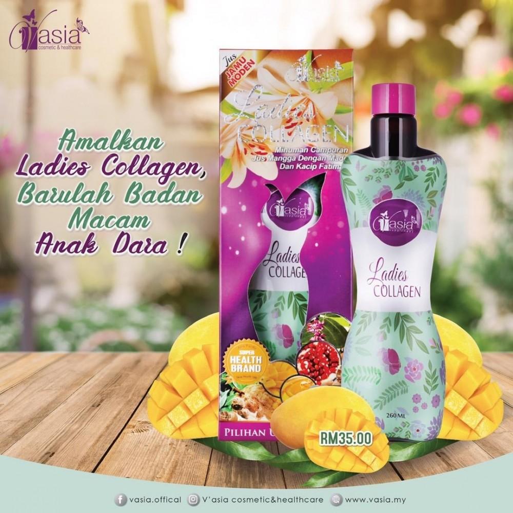 Vasia Ladies Collagen Botol